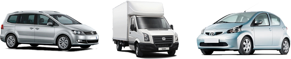 Luton vans for hire or rent