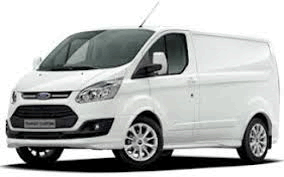A short wheel base van